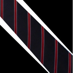 Hedvábná kravata modrá