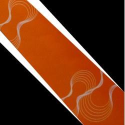 Polyesterová kravata oranžová