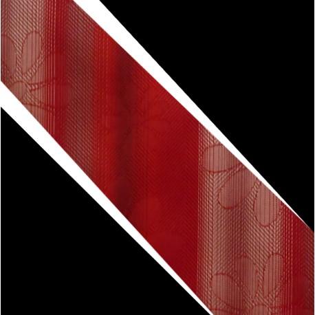Polyesterová kravata červená
