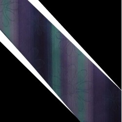 Polyesterová kravata modro fialová
