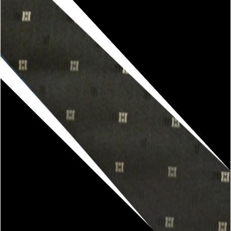 Polyesterová kravata černá