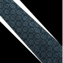 Polyesterová kravata tmavý tyrkys