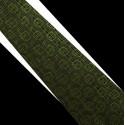 Polyesterová kravata zelená
