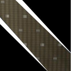 Polyesterová kravata hnědá