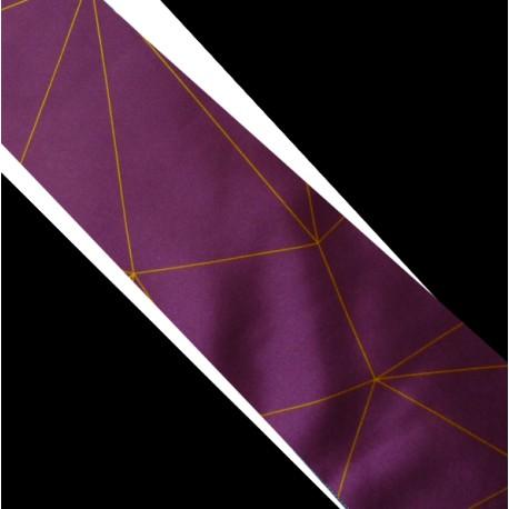 Polyesterová kravata fialová