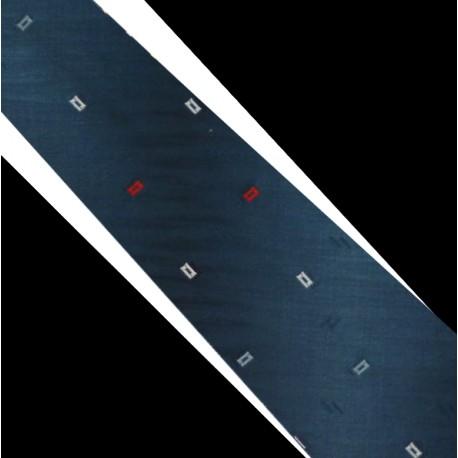Polyesterová kravata tmavě modrá
