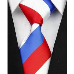 Polyesterová kravata trikolora